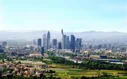Франкфурт-на-Майне, панорама города