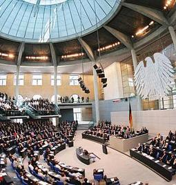 Германский Бундестаг, Берлин